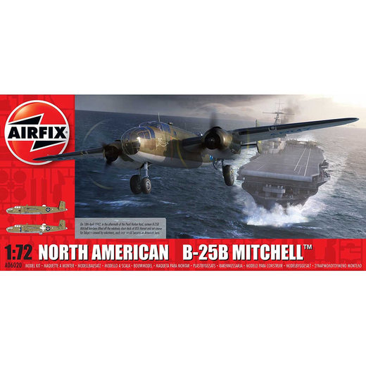 AIR06020 - Airfix 1/72 B-25B Mitchell