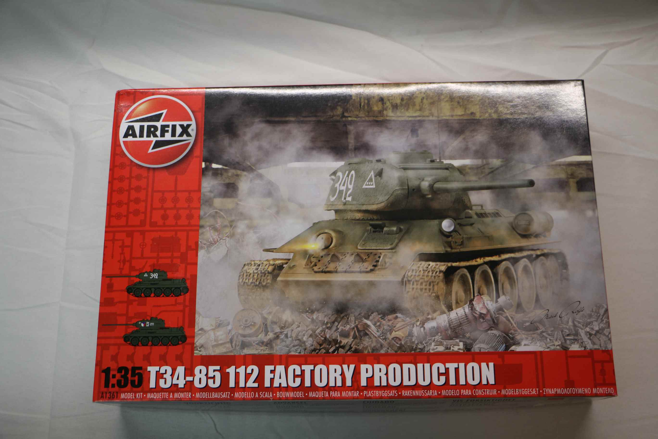 AIR1361 - Airfix 1/35 T-34/85 112 Fact.Prod.