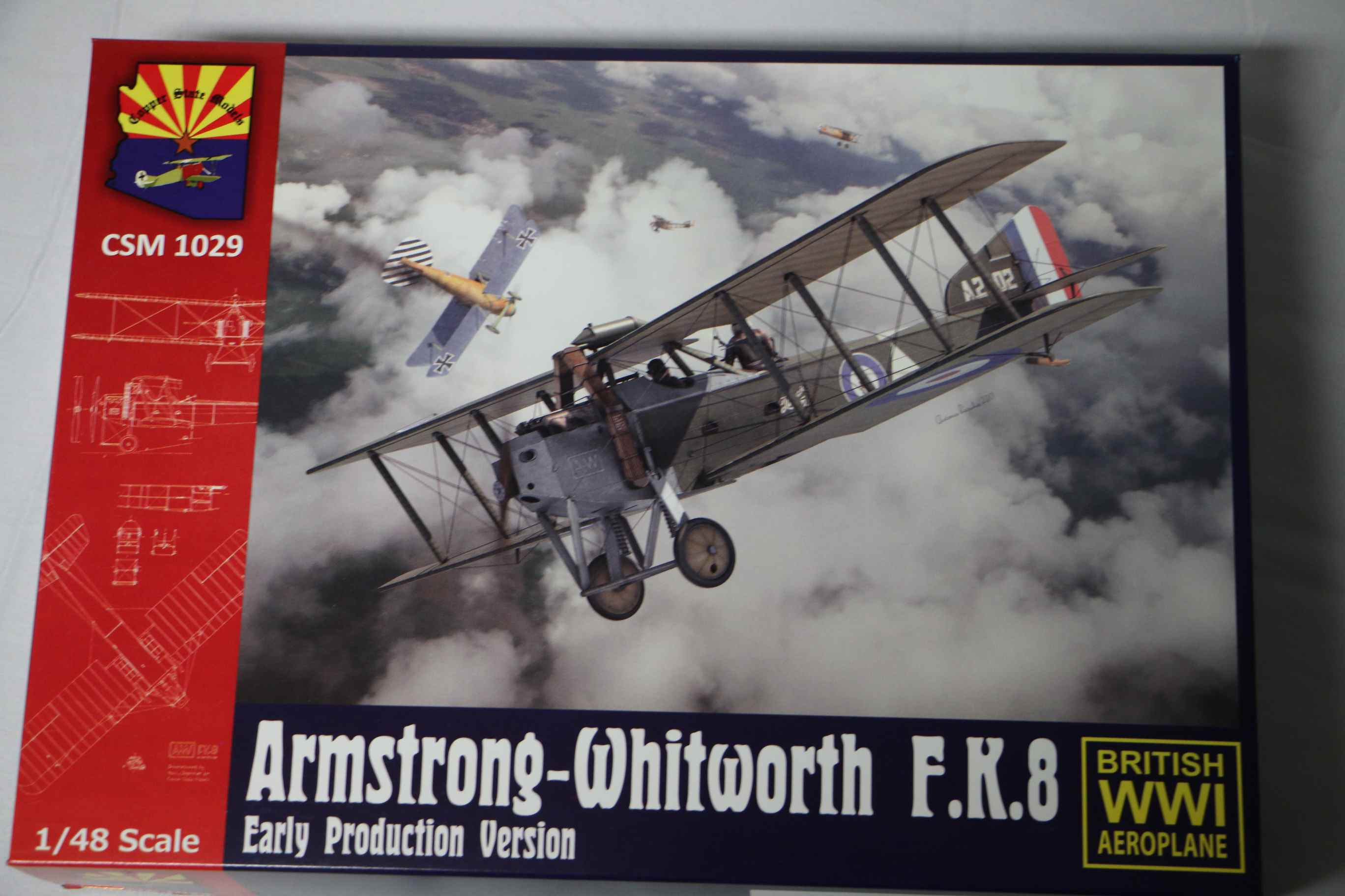 CSMK1029 - Copper State Models 1/48 Armstrong-Whitworth FK8 Early