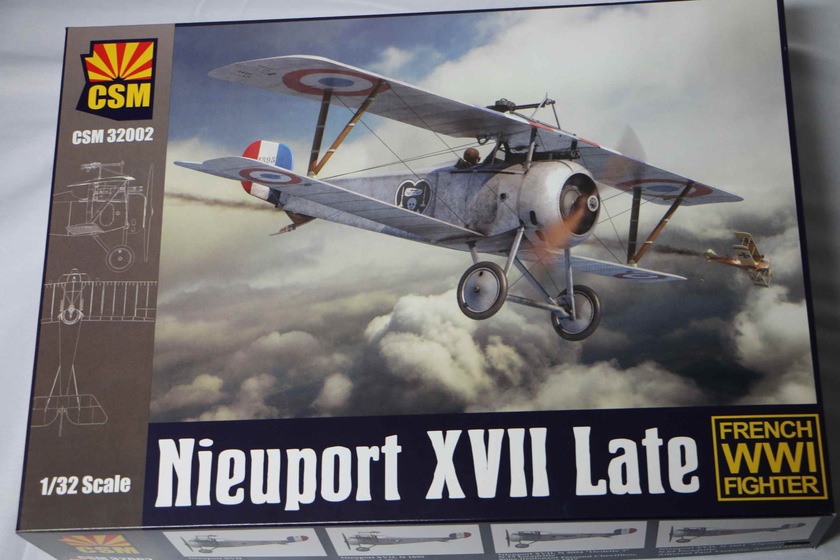 CSM32002 - Copper State Models 1/32 Nieuport 17 Late