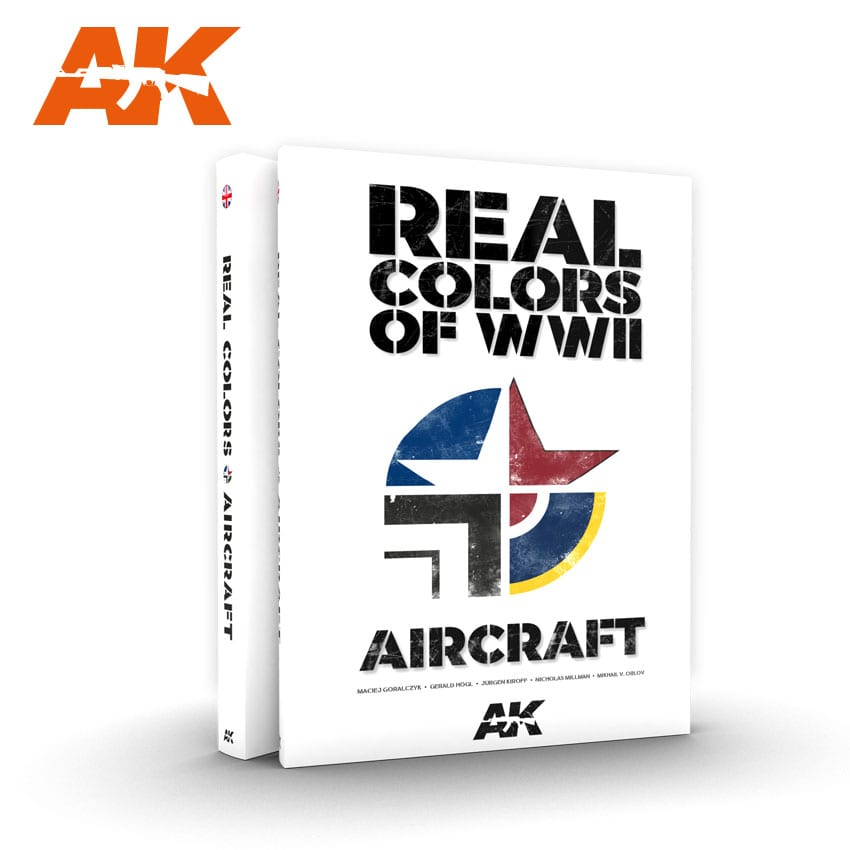 AKIAK290 - AK Interactive Real Colors of WWII - Aircraft