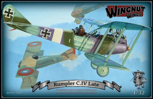 WNW32037 - Wingnut Wings 1/32 Rumpler C.IV Late