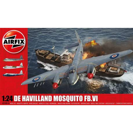 AIR25001A - Airfix 1/24 DeHavilland Mosquito FB.VI CANADIAN CONTENT