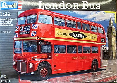 RAG07651 - Revell 1/24 AEC Routemaster London Bus