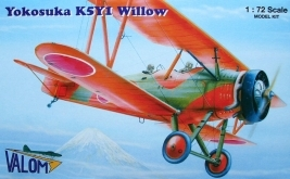 VAL72052 - Valom 1/72 Yokosuka K5Y1 Willow