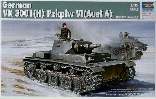 TRP01515 - Trumpeter 1/35 VK 3001(H) PzKpfw VI Ausf.A