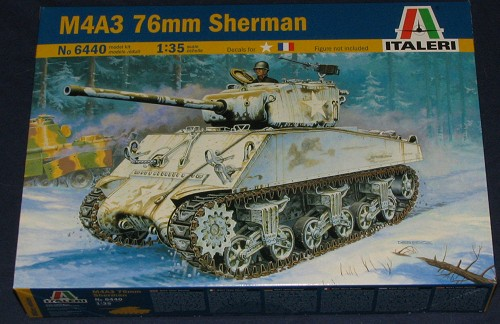 ITA6440 - Italeri 1/35 M4A3 76mm Sherman