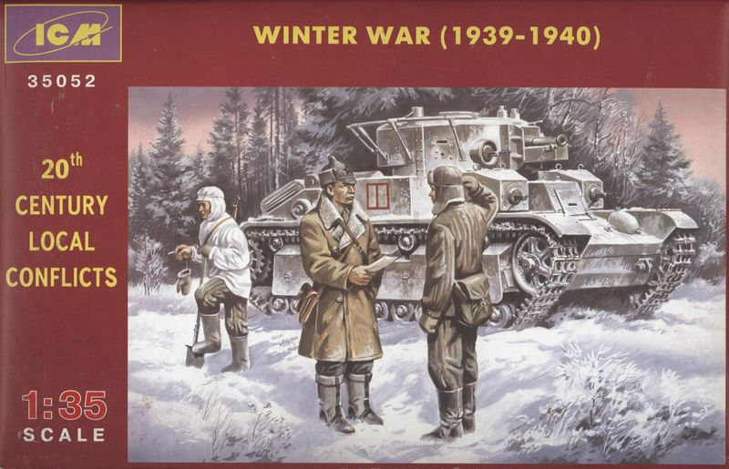ICM35052 - ICM 1/35 20th Century Local Conflicts Winter WAR 1939-40
