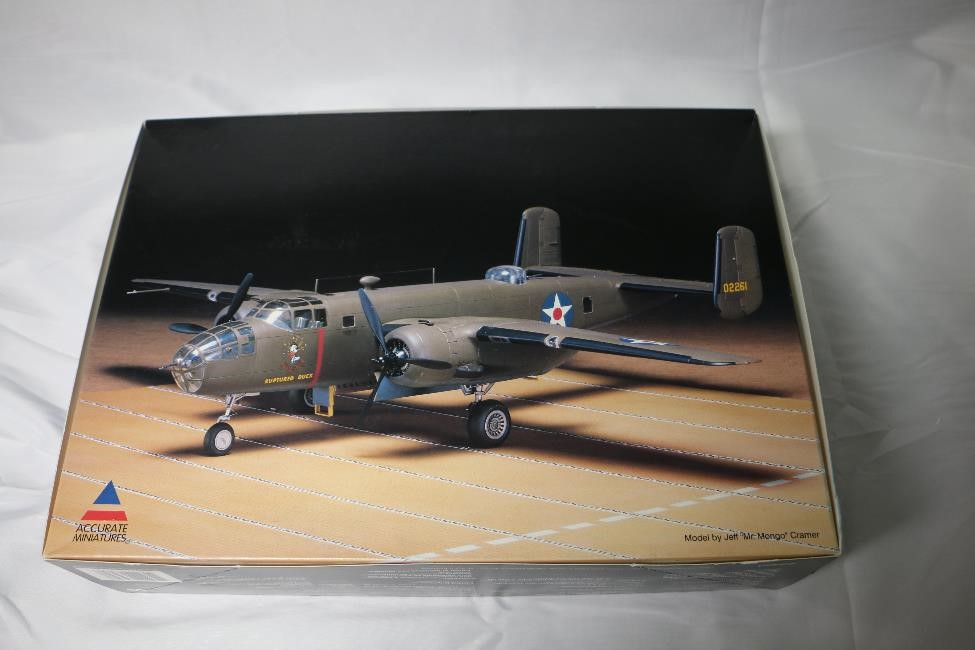ACC3430 - Accurate Miniatures 1/48 B-25B Mitchell