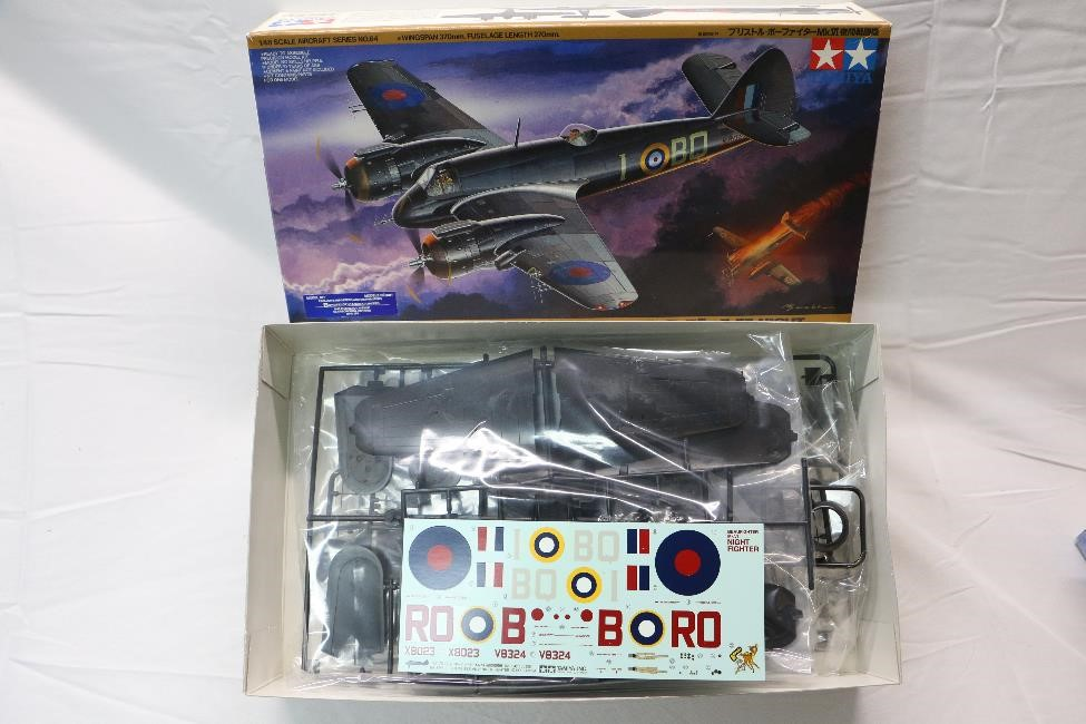 TAM61064 - Tamiya 1/48 Bristol Beaufighter Mk.VI Night Fighter