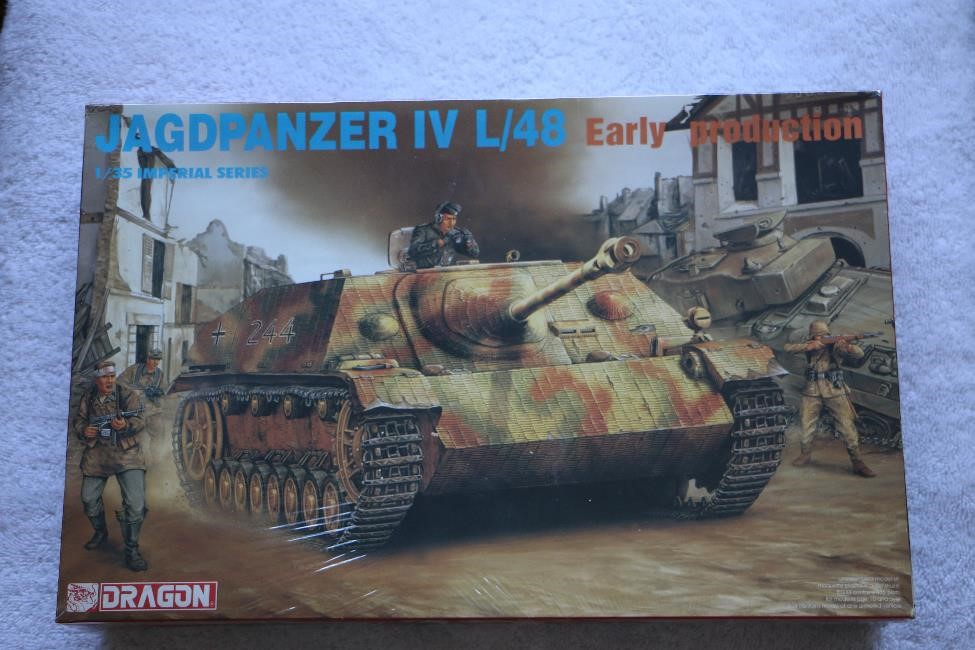 DRA9021 - Dragon 1/35 Jagdpanzer IV L/48 Early Production