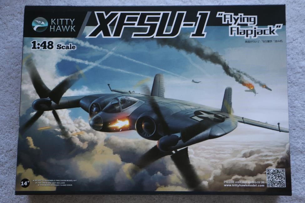 KITKH80135 - Kitty Hawk 1/48 XF5U-1 'Flying Flapjack'