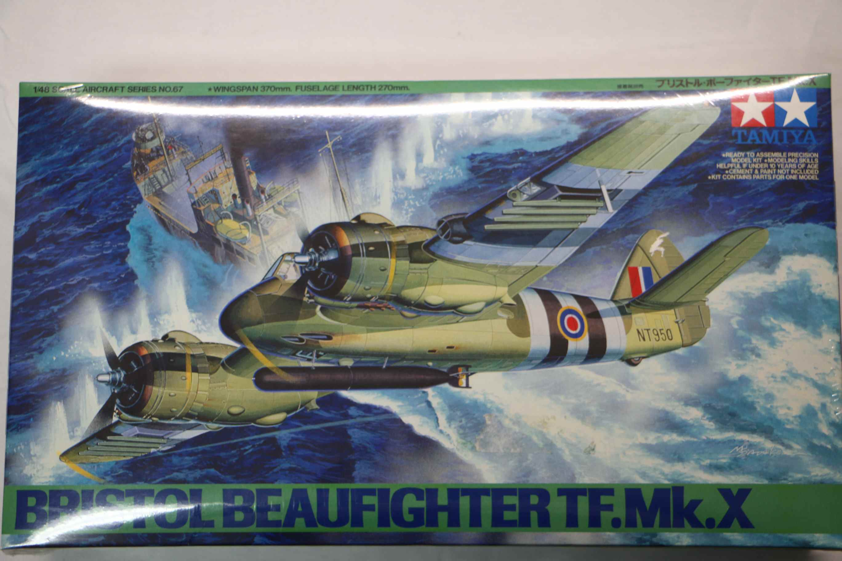 TAM61067 - Tamiya 1/48 Bristol Beaufighter TF.Mk.X