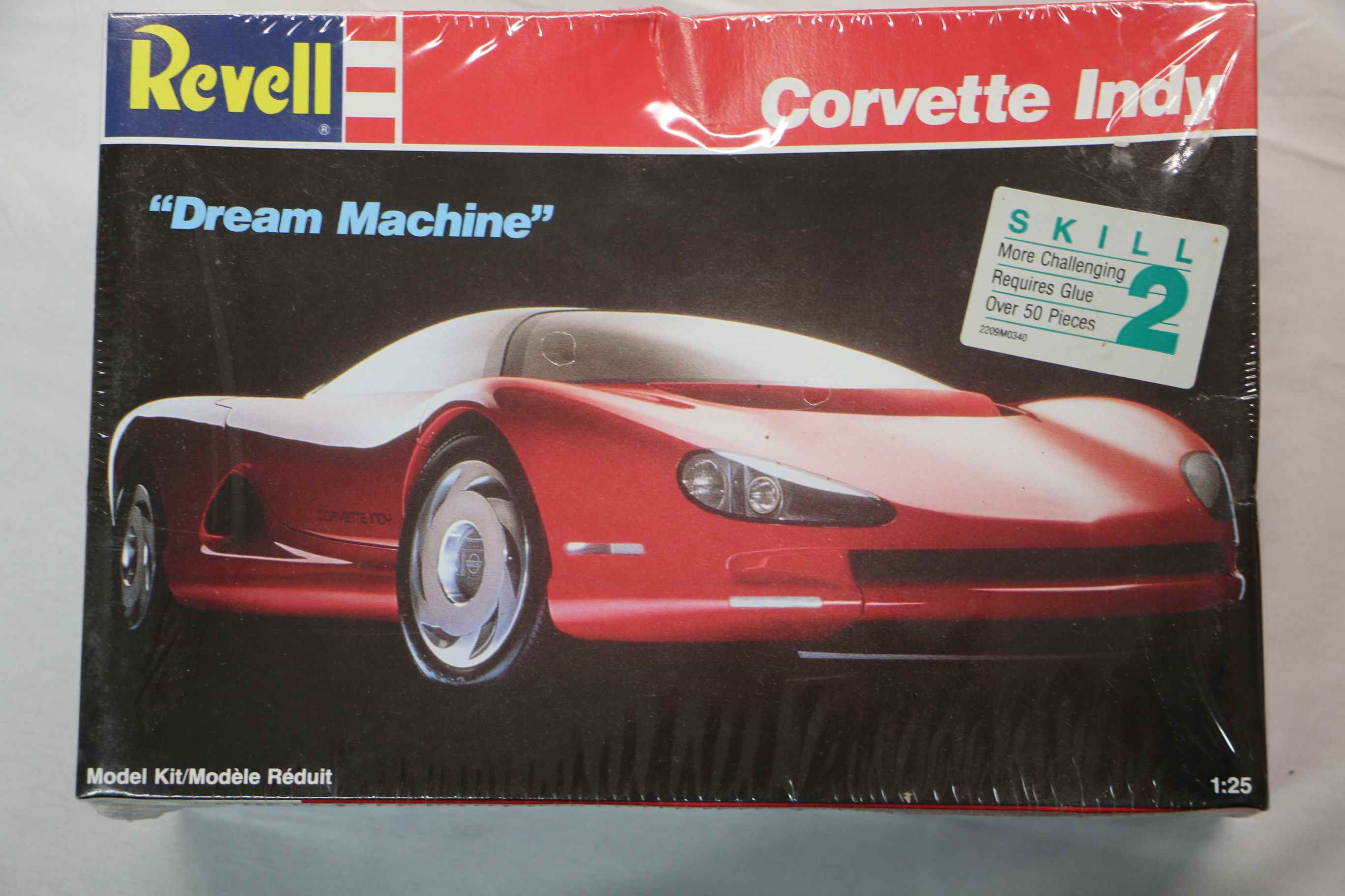 "REV7108 - Revell 1/25 Corvette Indy ""Dream Machine"""