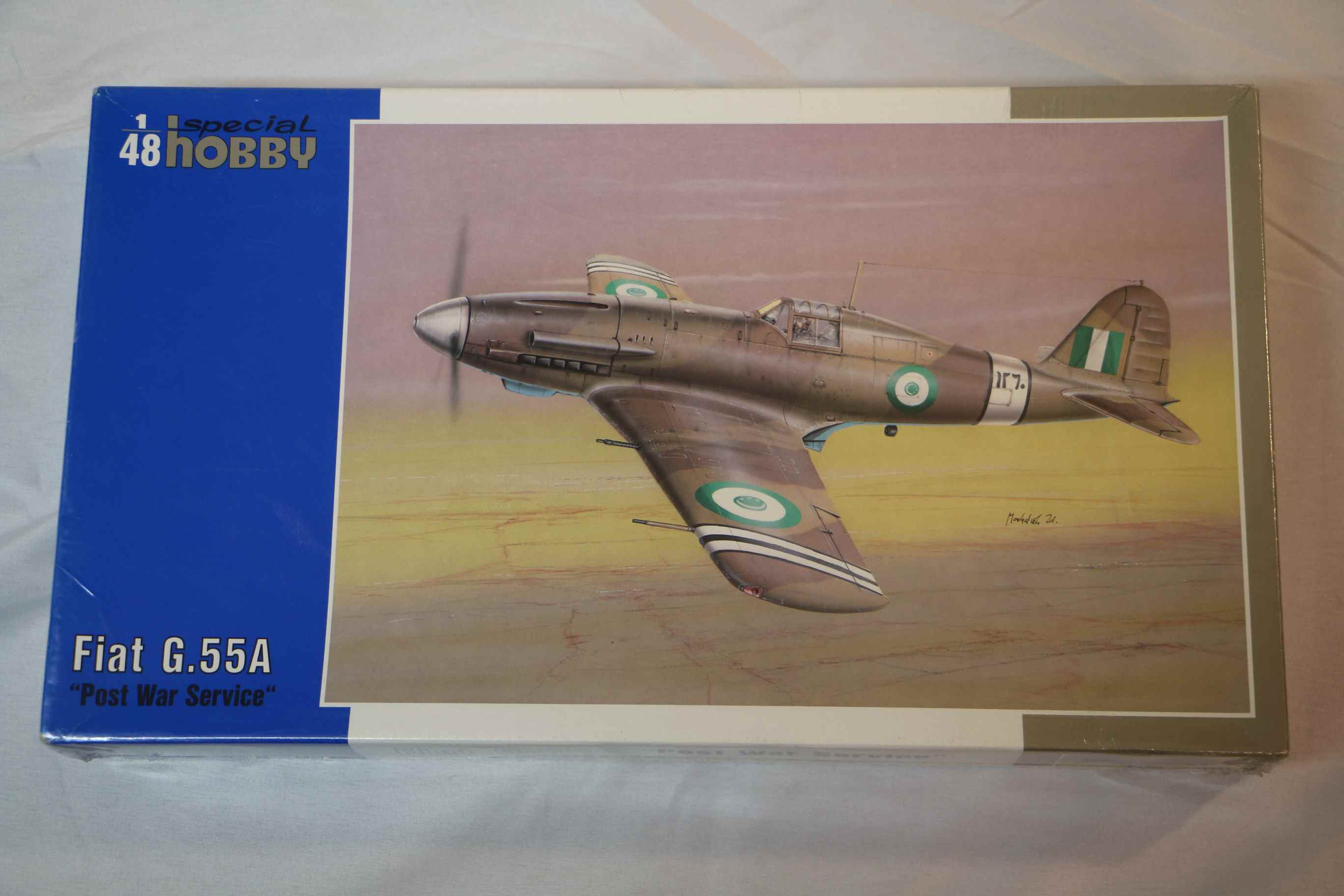 SPE48087 - Special Hobby 1/48 Fiat G.55A 'Post War Service'