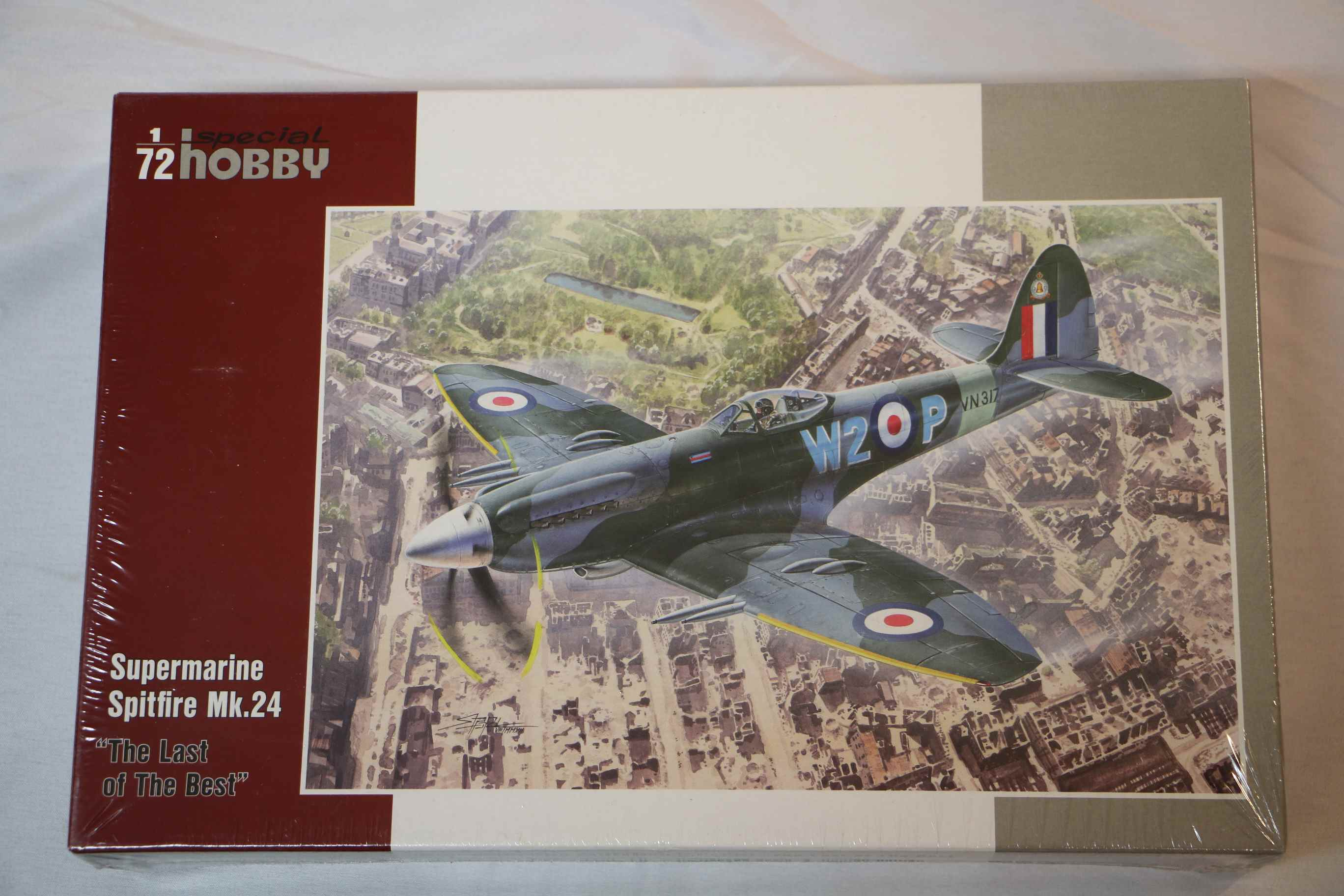SPE72233 - Special Hobby 1/72 Spitfire Mk.24 'Last of the Best'