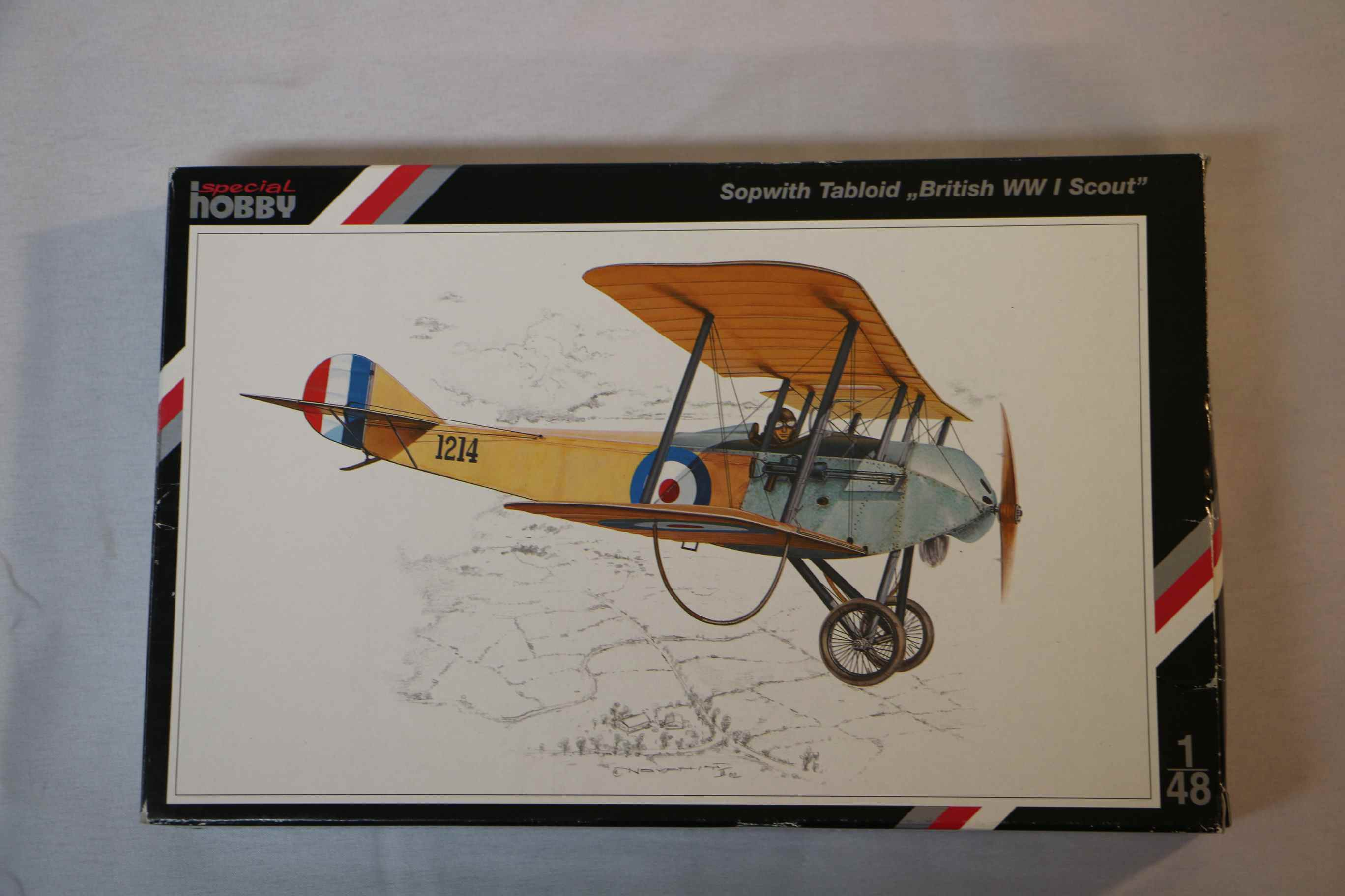SPE48011 - Special Hobby 1/48 Sopwith Tabloid British WWI Scout