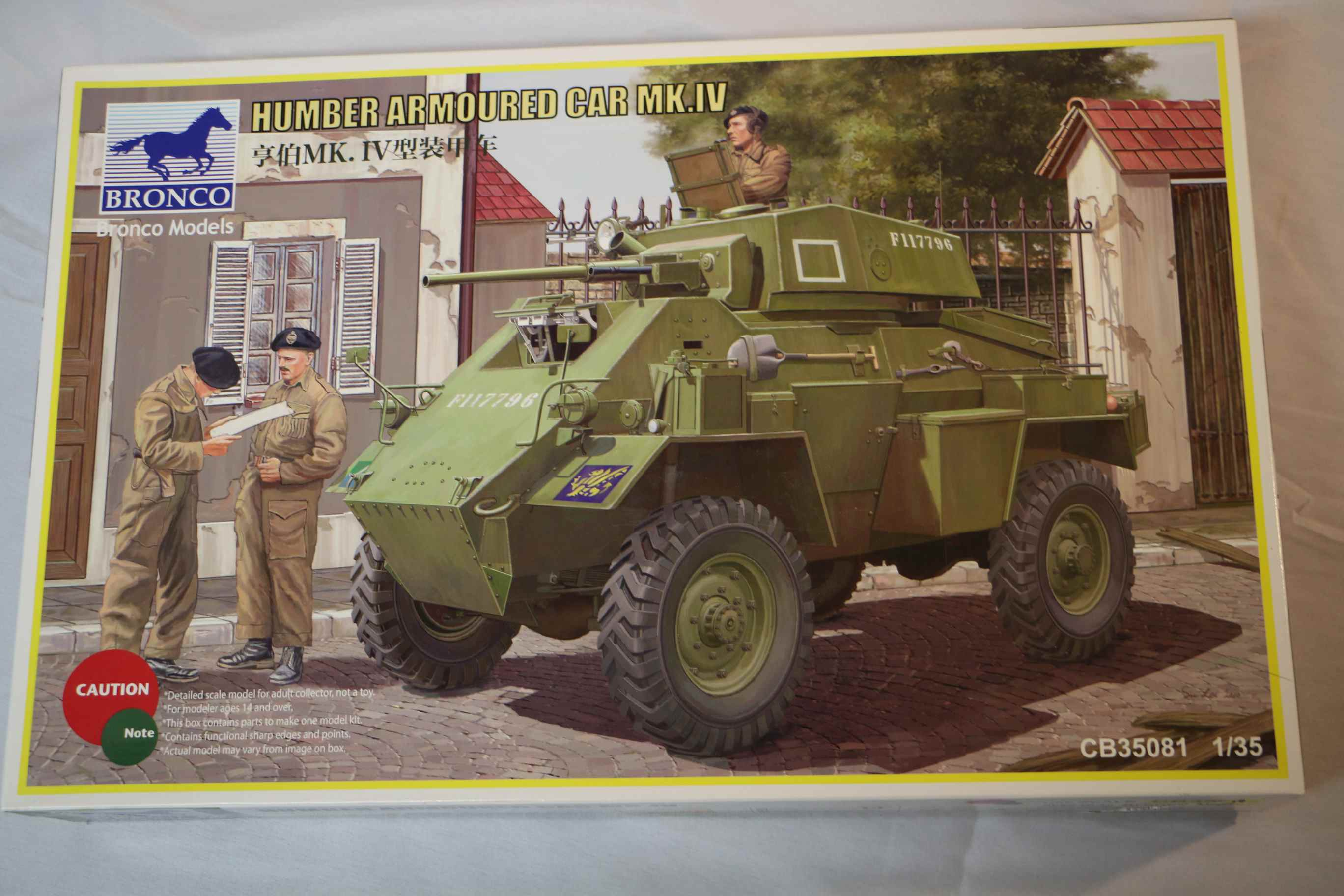 BROCB35081 - Bronco 1/35 Humber Mk.IV Armoured Car