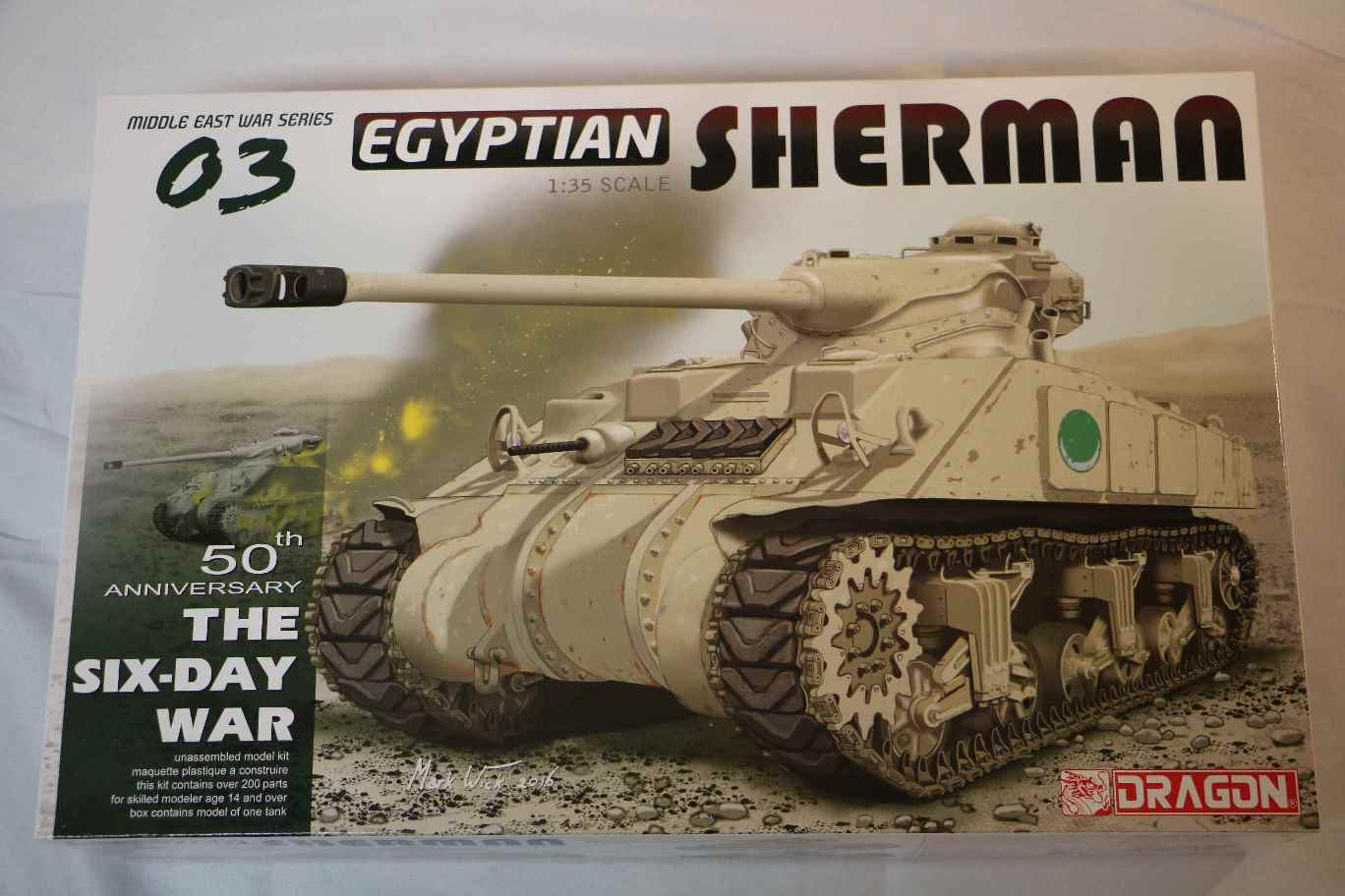 DRA3570 - Dragon 1/35 Egyptian Sherman 50th Anniversary