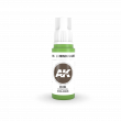 AKI11225 - AK Interactive Luminous Green Ink - 17mL Bottle - Acrylic / Water Based - Flat