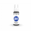 AKI11212 - AK Interactive Gun Metal - 17mL Bottle - Acrylic / Water Based