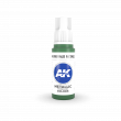 AKI11204 - AK Interactive Emerald Metallic Green - 17mL Bottle - Acrylic / Water Based - Flat