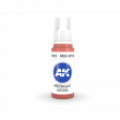 AKI11203 - AK Interactive Foundry Red - 17mL Bottle - Acrylic / Water Based