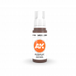 AKI11104 - AK Interactive Saddle Brown - 17mL Bottle - Acrylic / Water Based - Flat