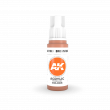 AKI11063 - AK Interactive Brown Rose - 17mL Bottle - Acrylic / Water Based - Flat