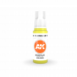 AKI11049 - AK Interactive Fluorescent Yellow - 17mL Bottle - Acrylic / Water Based