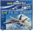 REV64894 - Revell 1/72 F/A-18C Hornet [ Model-Set ]