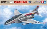 TAM61121 - Tamiya 1/48 McDonnell-Douglas F-4B Phantom PRE-ORDER No limit on quantity. DO NOT COMBINE WITH OTHER ITEMS. After your order ships you will receive a coupon for  15% off your next purchase.. This offer Valid for pre-orders .