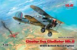 ICM32042 - ICM 1/32 Gloster Sea Gladiator Mk.II - WW II British Naval Fighter