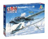 ITA1436 - Italeri 1/72 Heinkel He 111H - Battle of Britain 80th Anniversary (Decals for 5 Versions)