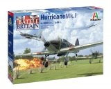 ITA2802 - Italeri 1/48 Hawker Hurricane Mk.I Battle of Britain 80th Anniversary (Decals for 4 Versions)