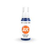 AKI11214 - AK Interactive Clear Blue - 17mL Bottle - Acrylic / Water Based - Flat