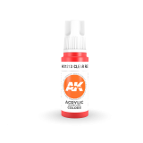 AKI11213 - AK Interactive Clear Red - 17mL Bottle - Acrylic / Water Based - Flat