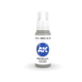 AKI11210 - AK Interactive Natural Steel - 17mL Bottle - Acrylic / Water Based