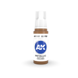 AKI11197 - AK Interactive Copper - 17mL Bottle - Acrylic / Water Based