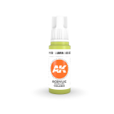 AKI11128 - AK Interactive Luminous Green - 17mL Bottle - Acrylic / Water Based - Flat