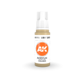 AKI11115 - AK Interactive Light Earth - 17mL Bottle - Acrylic / Water Based - Flat