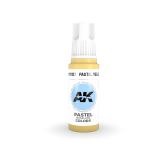 AKI11037 - AK Interactive Pastel Yellow - 17mL Bottle - Acrylic / Water Based