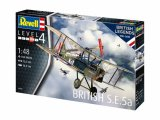REV03907 - Revell 1/48 British S.E.5A [ British Legends 1918-2018 ]