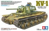 TAM35372 - Tamiya 1/35 Model 1941 Early Production KV-1L