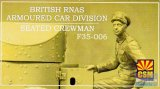 CSMF35006 - Copper State Models 1/35 Armoured Car Crewman Seated