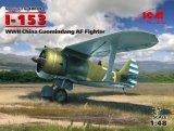 ICM48099 - ICM 1/48 I-153 China Guomindang AF Fighter