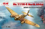 ICM48265 - ICM 1/48 He 111H-6 North Africa - WW II German Bomber
