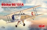 ICM32033 - ICM 1/32 Bucker Bu 131A - German Training Aircraft