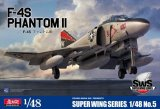 ZOUSWS4805 - Zoukei-Mura 1/48 F-4S Phantom II - Super Wing Series