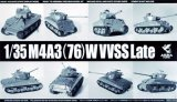 ASU35-043 - Asuka Model 1/35 M4A3 (76) W VVSS Late